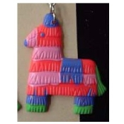PINATA PENDANT NECKLACE-Birthday Party Fiesta Game Funky Jewelry