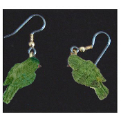 Mini BIRD EARRINGS - Spring Garden Birds Jewelry -C