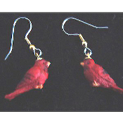 Mini BIRD EARRINGS - Spring Garden Birds Jewelry -H