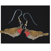 Mini BIRD EARRINGS - Spring Garden Birds Jewelry -I