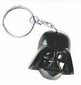 HUGE Funky Star Wars DARTH VADER KEYCHAIN - Cosplay Sci-Fi Villain Costume Jewelry