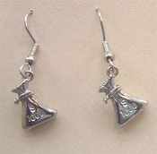 MONEY BAG EARRINGS - Las Vegas Teller, Shopping Charm Jewelry
