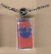PEPSI CAN PENDANT NECKLACE-Soda Pop Cola Fun Drink Charm Jewelry