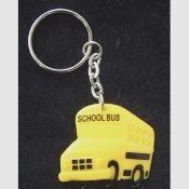 SCHOOL BUS KEYCHAIN - Driver Gift Crossing Guard Charm Jewelry